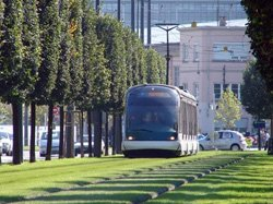 Acoustique vibration tram
