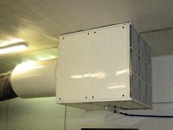 Capotage acoustique de ventilation